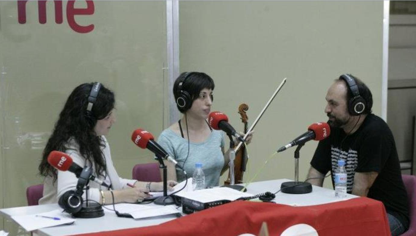 Actuación en Radio Clásica de RNE