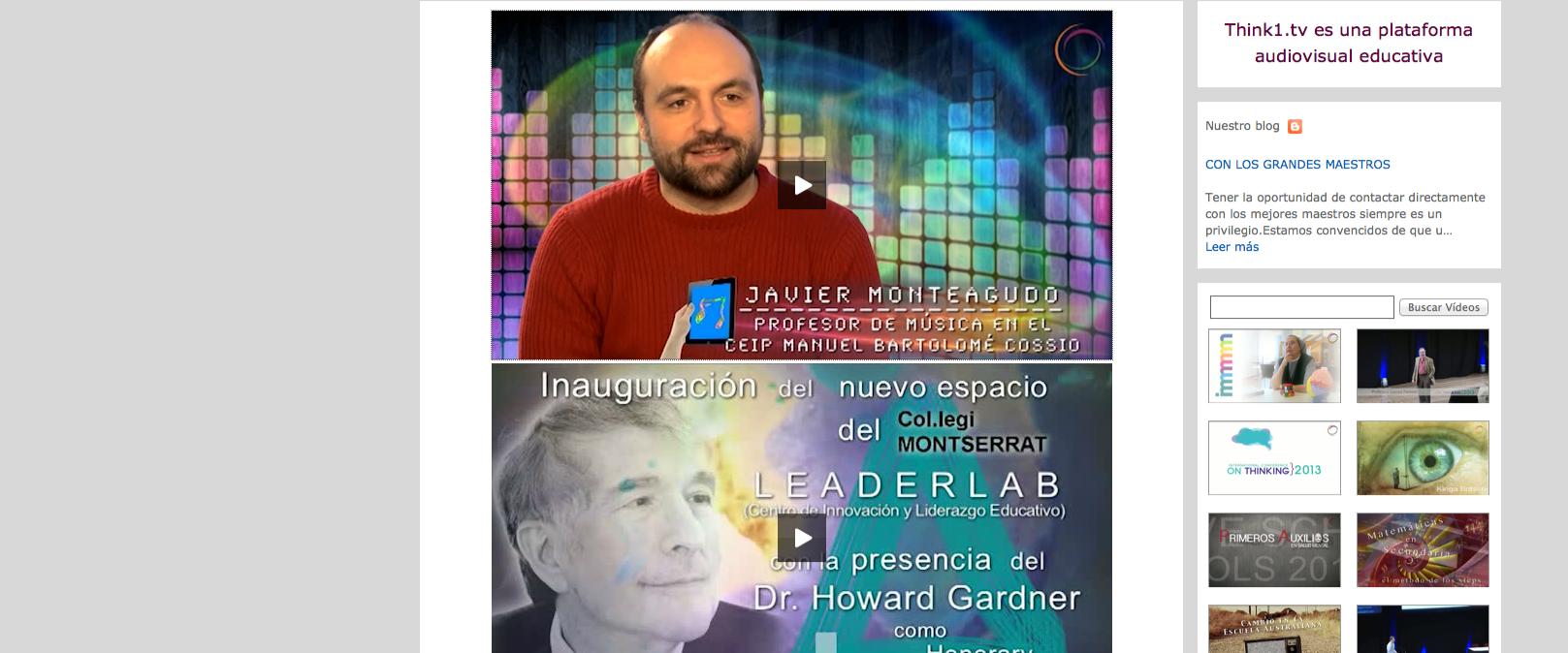 Entrevista en Think1 TV- Colegio Montserrat