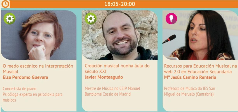 I Jornadas de Pedagogía Musical en Vigo.