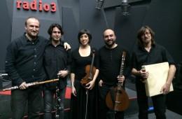 Actuación en Los Conciertos de Radio 3